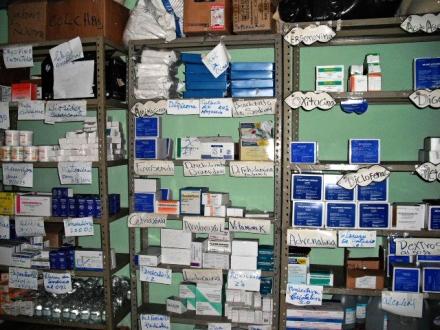 Kelly's post stock room