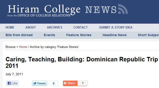 Hiram College News-3 Caminante 7-7-11